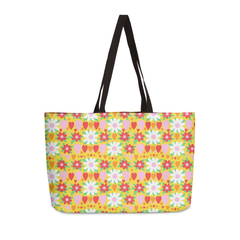 Vintage #30 Accessories Weekender Bag Bag by Kate Gabrielle's Artist Shop