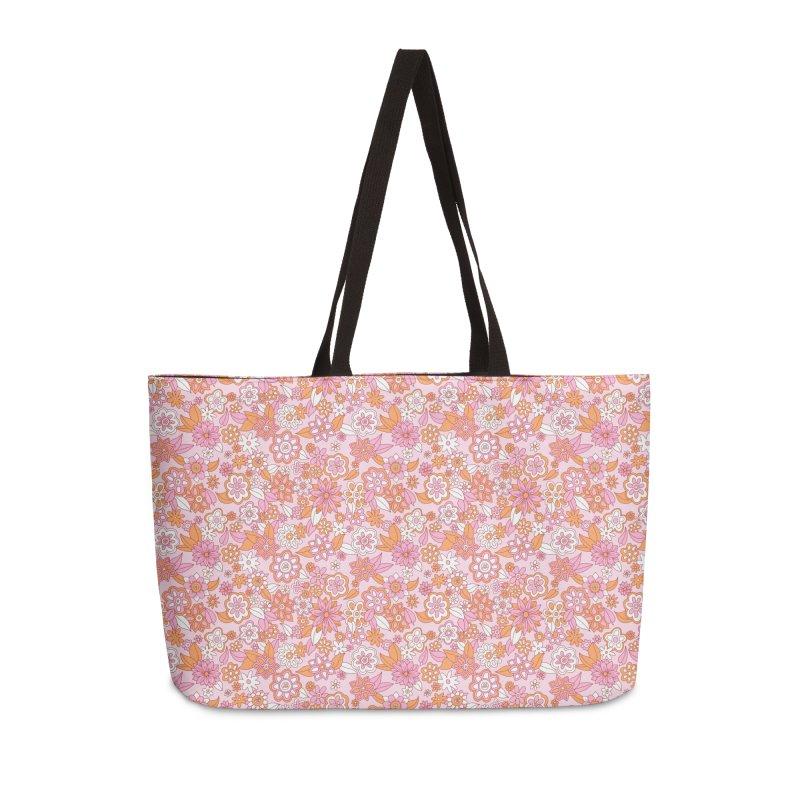 Vintage #31 Accessories Weekender Bag Bag by Kate Gabrielle's Artist Shop