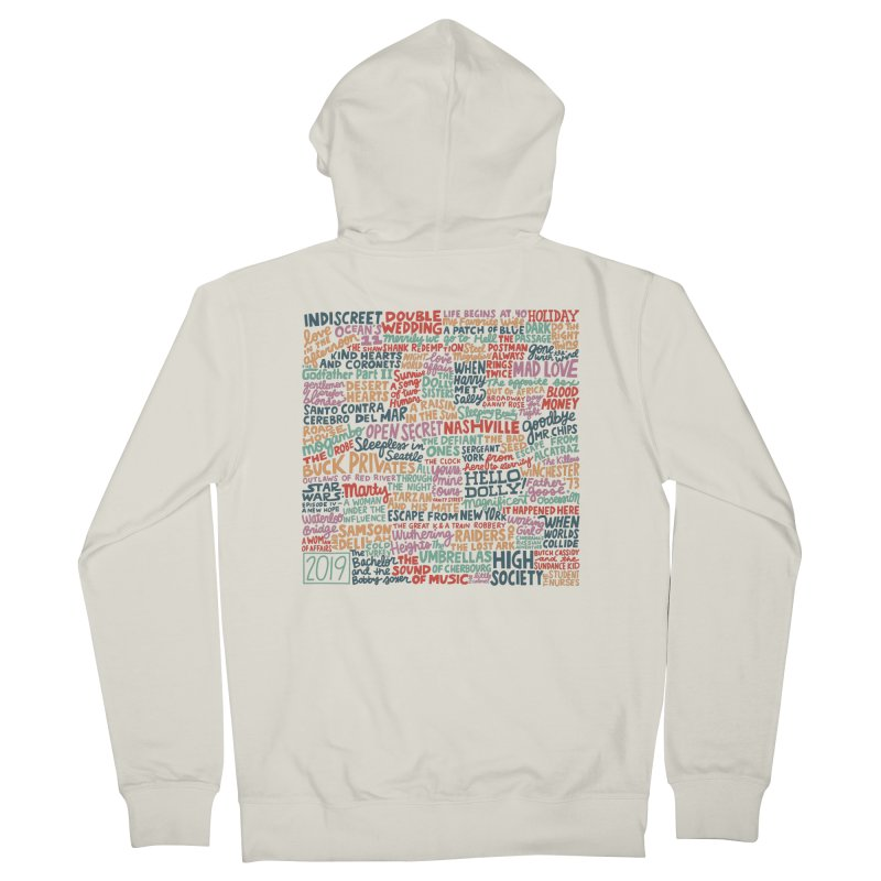 TCMFF 2019 Men's French Terry Zip-Up Hoody by Kate Gabrielle's Artist Shop
