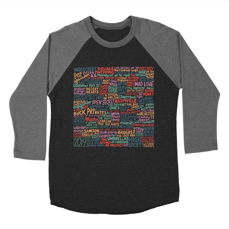 TCMFF 2019 Women's Baseball Triblend Longsleeve T-Shirt by Kate Gabrielle's Artist Shop