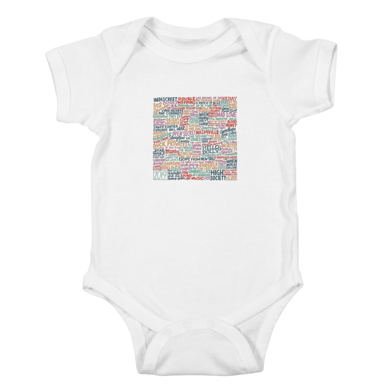 TCMFF 2019 Kids Baby Bodysuit by Kate Gabrielle's Artist Shop