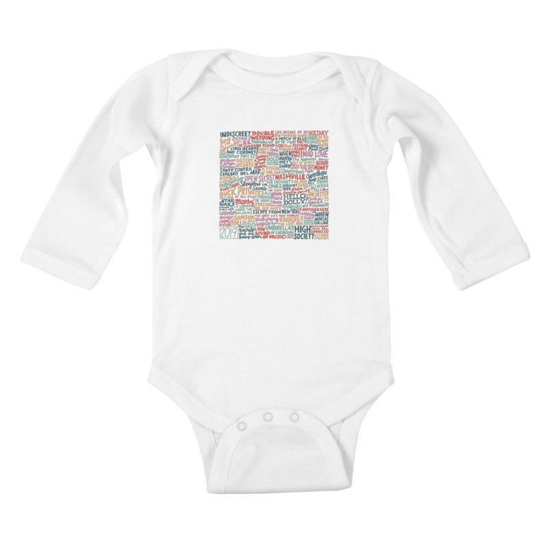 TCMFF 2019 Kids Baby Longsleeve Bodysuit by Kate Gabrielle's Artist Shop