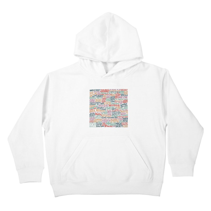 TCMFF 2019 Kids Pullover Hoody by Kate Gabrielle's Artist Shop