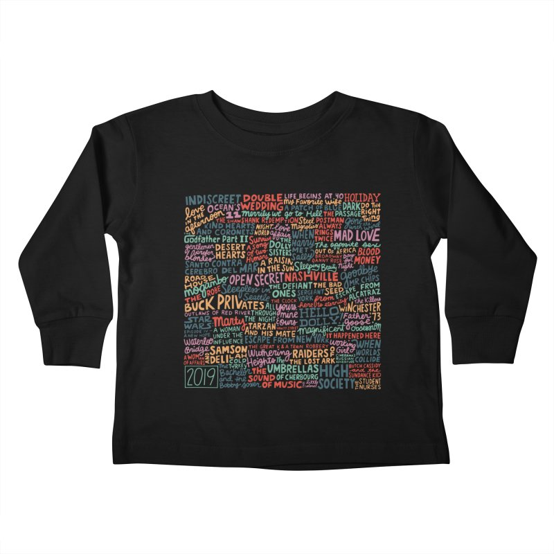 TCMFF 2019 Kids Toddler Longsleeve T-Shirt by Kate Gabrielle's Artist Shop
