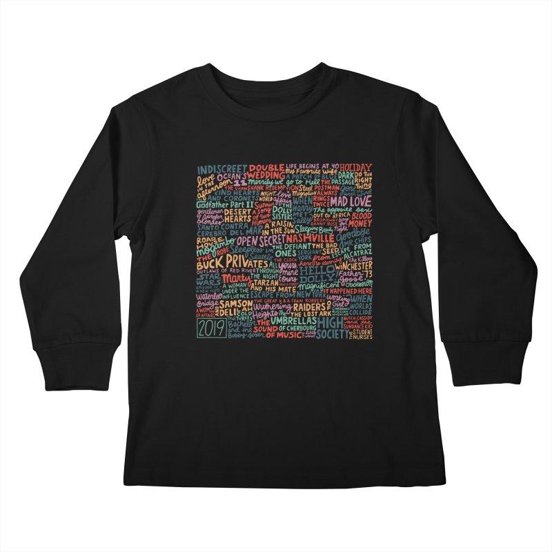 TCMFF 2019 Kids Longsleeve T-Shirt by Kate Gabrielle's Artist Shop