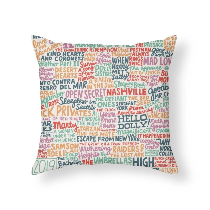TCMFF 2019 Home Throw Pillow by Kate Gabrielle's Artist Shop