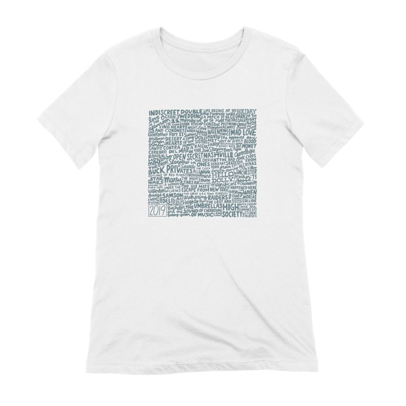 TCMFF 2019 (variant) Women's Extra Soft T-Shirt by Kate Gabrielle's Artist Shop