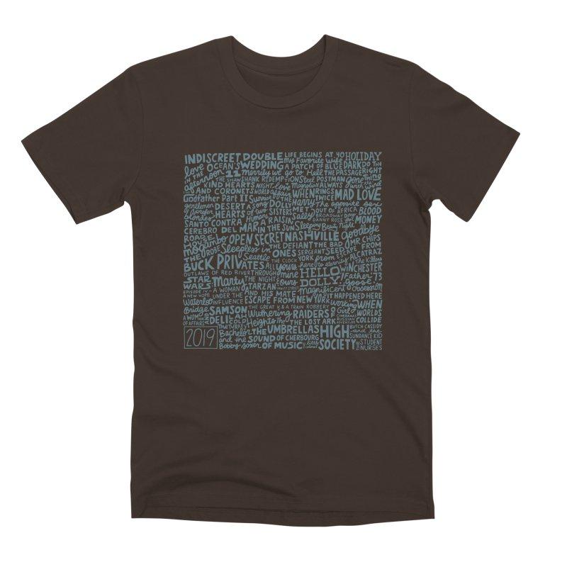 TCMFF 2019 (variant) Men's Premium T-Shirt by Kate Gabrielle's Artist Shop