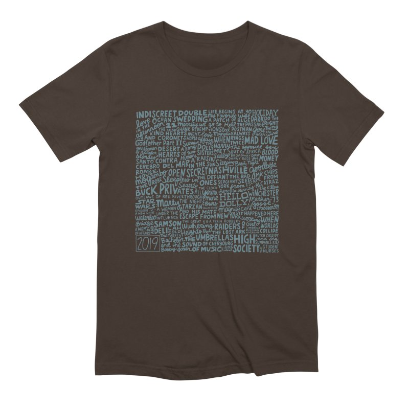 TCMFF 2019 (variant) Men's Extra Soft T-Shirt by Kate Gabrielle's Artist Shop