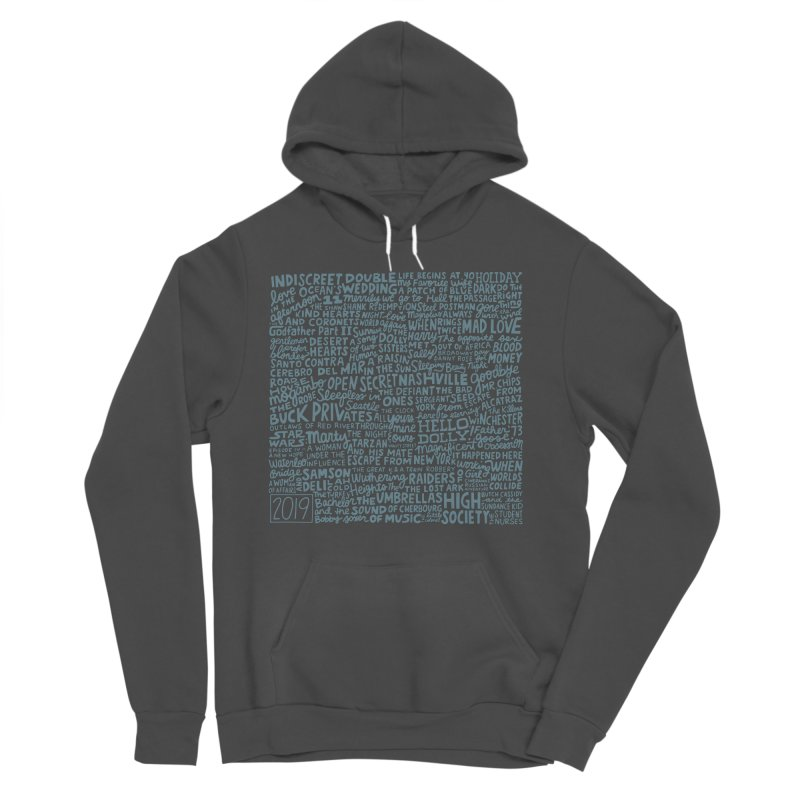 TCMFF 2019 (variant) Men's Sponge Fleece Pullover Hoody by Kate Gabrielle's Artist Shop