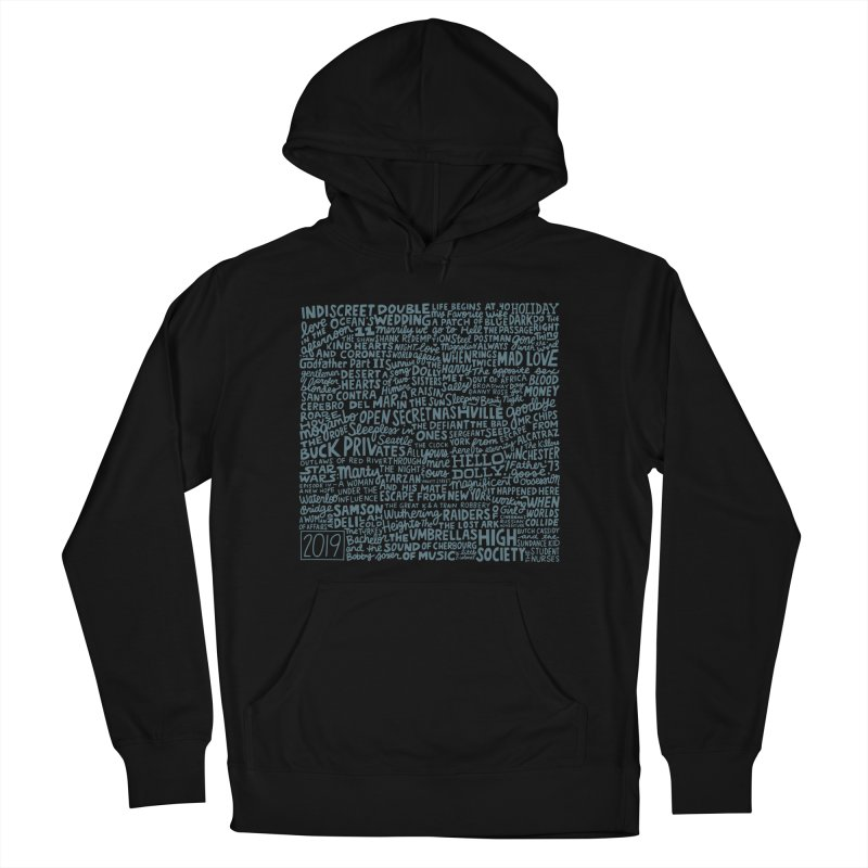 TCMFF 2019 (variant) Men's French Terry Pullover Hoody by Kate Gabrielle's Artist Shop