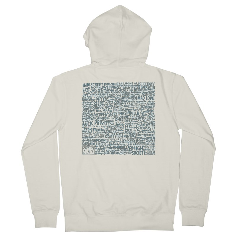 TCMFF 2019 (variant) Women's French Terry Zip-Up Hoody by Kate Gabrielle's Artist Shop