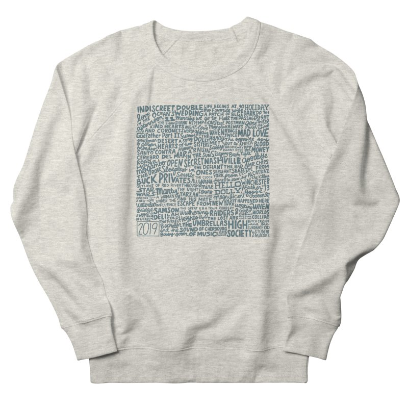 TCMFF 2019 (variant) Women's French Terry Sweatshirt by Kate Gabrielle's Artist Shop