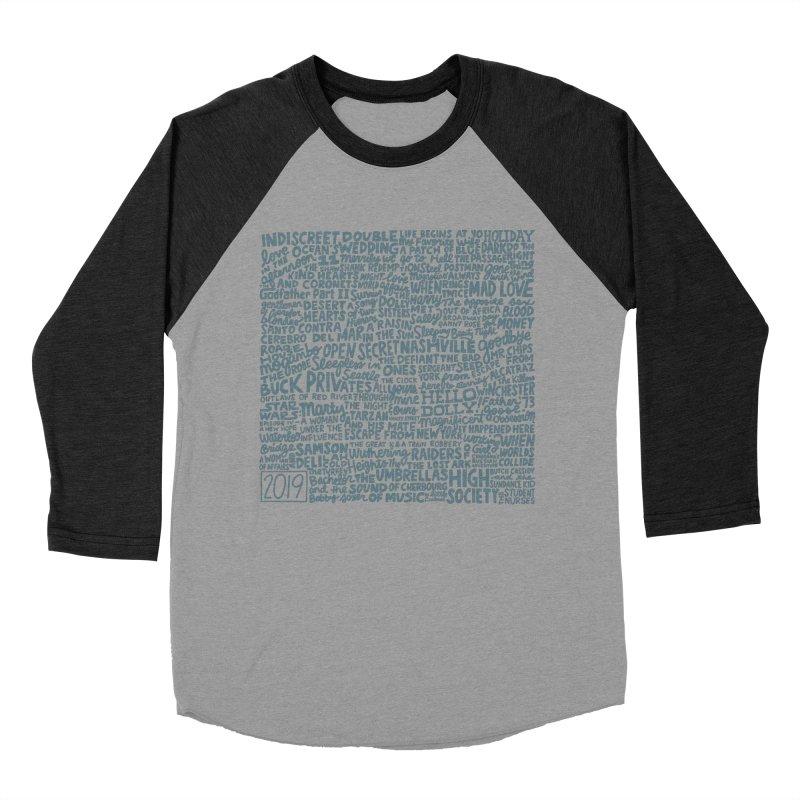 TCMFF 2019 (variant) Men's Baseball Triblend Longsleeve T-Shirt by Kate Gabrielle's Artist Shop