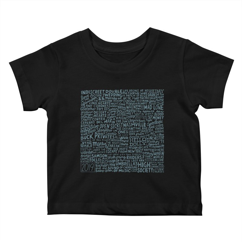 TCMFF 2019 (variant) Kids Baby T-Shirt by Kate Gabrielle's Artist Shop