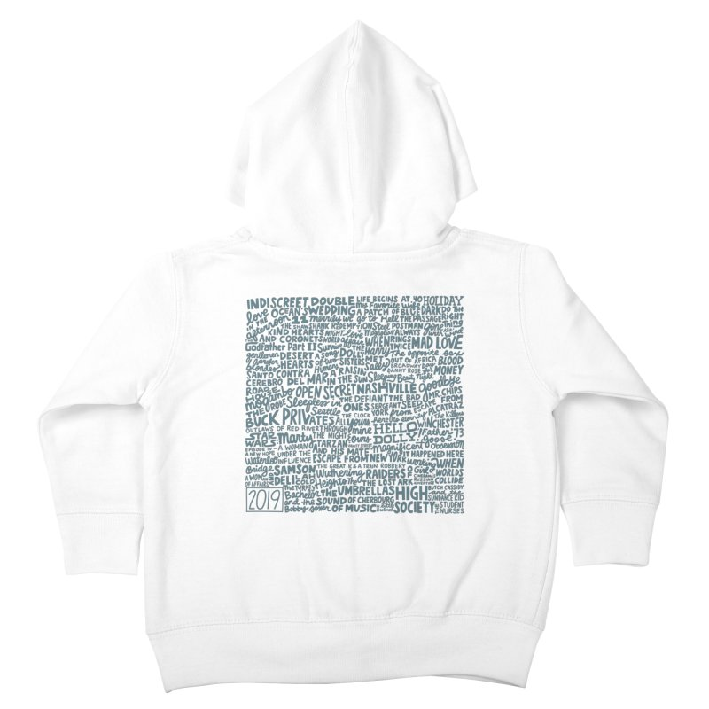 TCMFF 2019 (variant) Kids Toddler Zip-Up Hoody by Kate Gabrielle's Artist Shop
