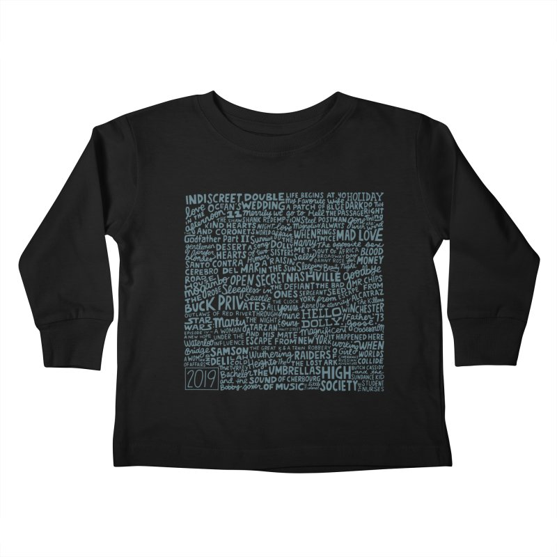 TCMFF 2019 (variant) Kids Toddler Longsleeve T-Shirt by Kate Gabrielle's Artist Shop