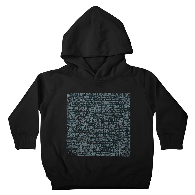TCMFF 2019 (variant) Kids Toddler Pullover Hoody by Kate Gabrielle's Artist Shop
