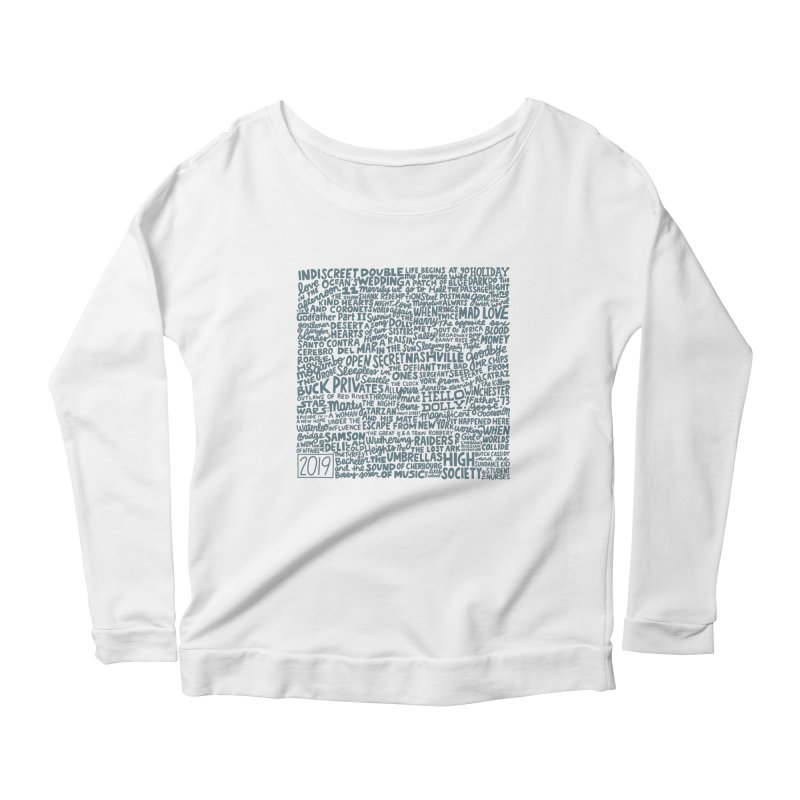 TCMFF 2019 (variant) Women's Scoop Neck Longsleeve T-Shirt by Kate Gabrielle's Artist Shop