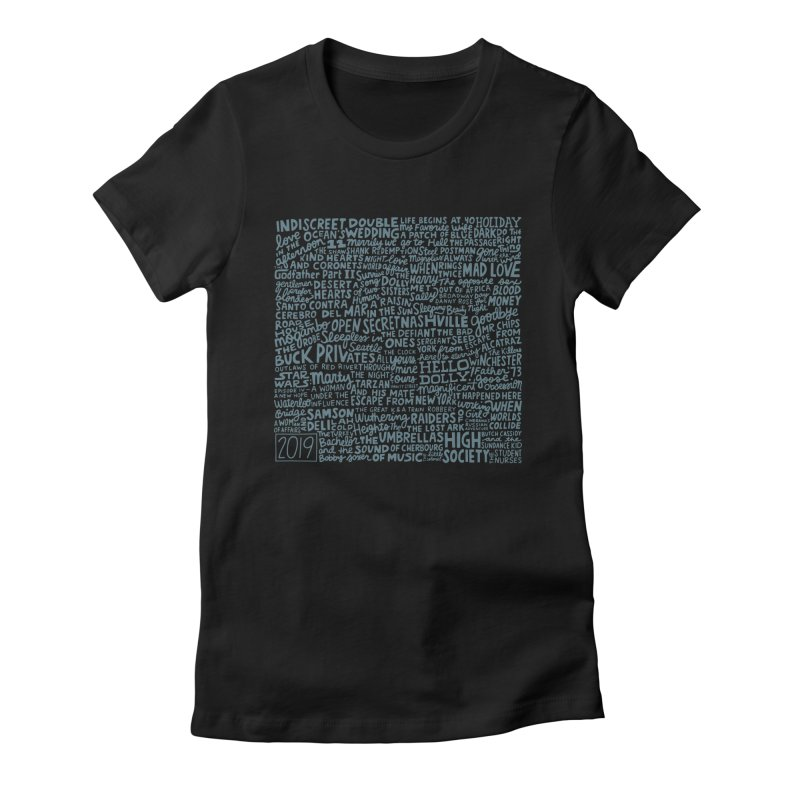 TCMFF 2019 (variant) Women's Fitted T-Shirt by Kate Gabrielle's Artist Shop
