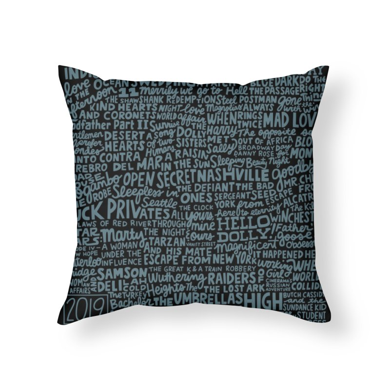 TCMFF 2019 (variant) Home Throw Pillow by Kate Gabrielle's Artist Shop
