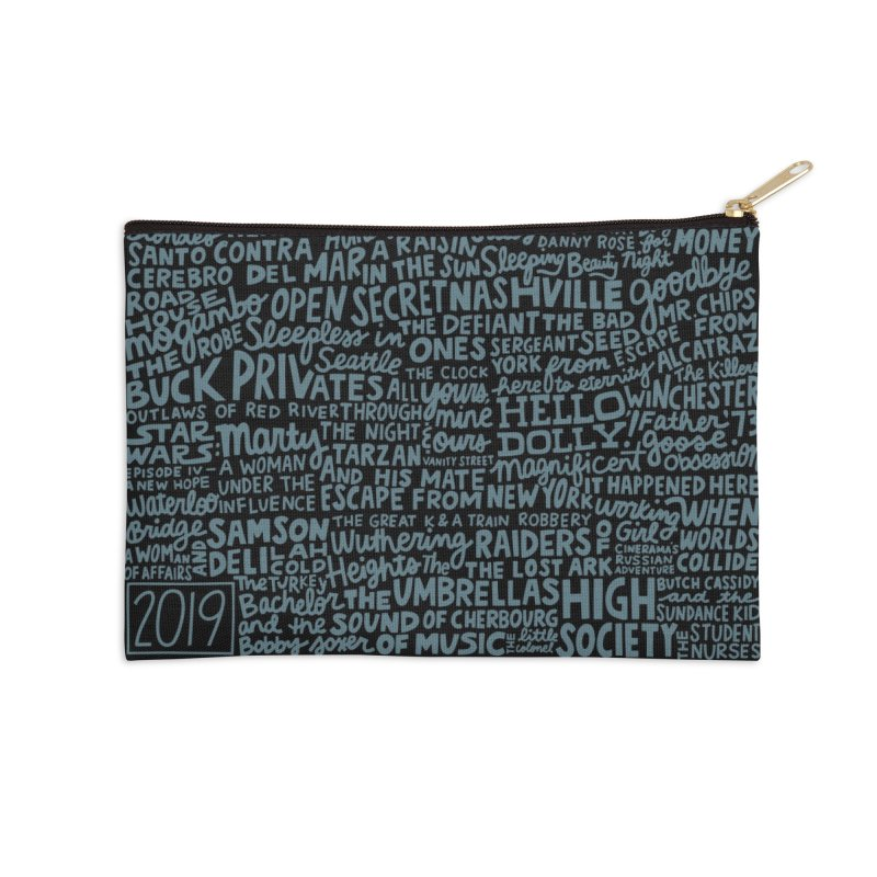 TCMFF 2019 (variant) Accessories Zip Pouch by Kate Gabrielle's Artist Shop