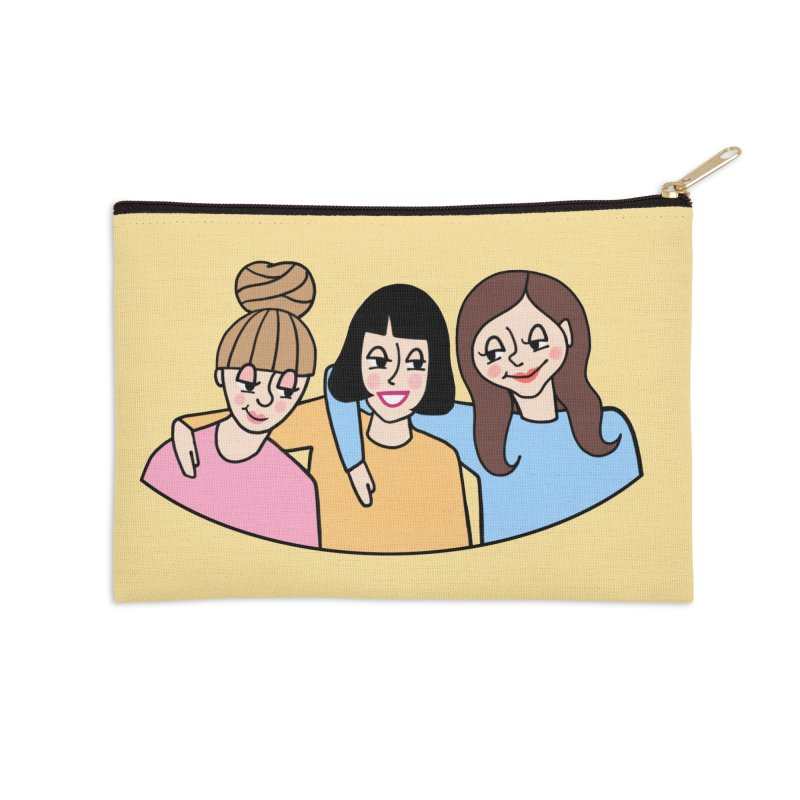 Reserved for Nikki Accessories Zip Pouch by Kate Gabrielle's Artist Shop