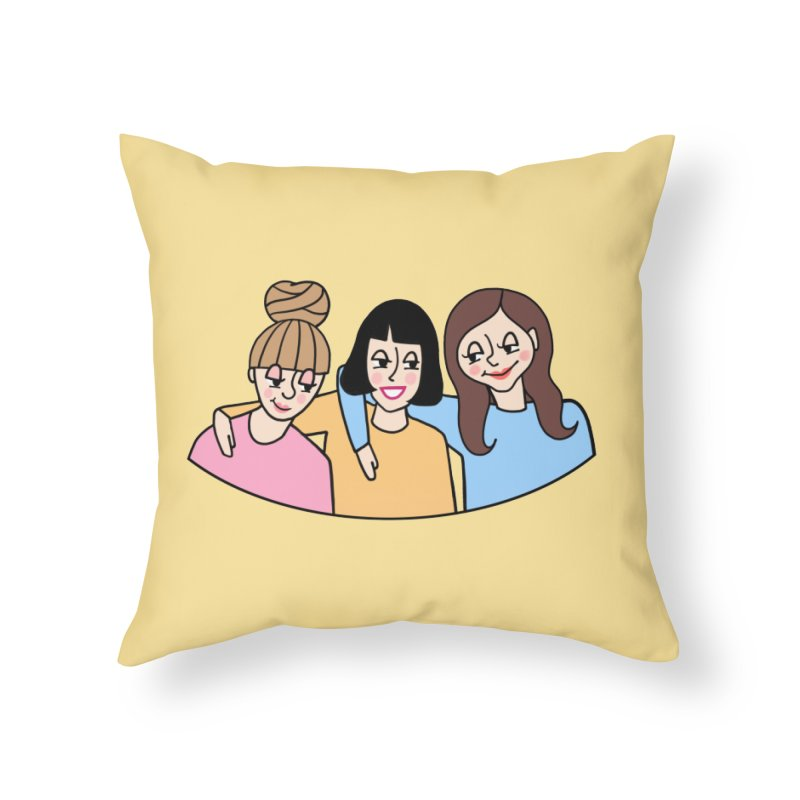 Reserved for Nikki Home Throw Pillow by Kate Gabrielle's Artist Shop