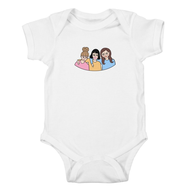 Reserved for Nikki Kids Baby Bodysuit by Kate Gabrielle's Artist Shop