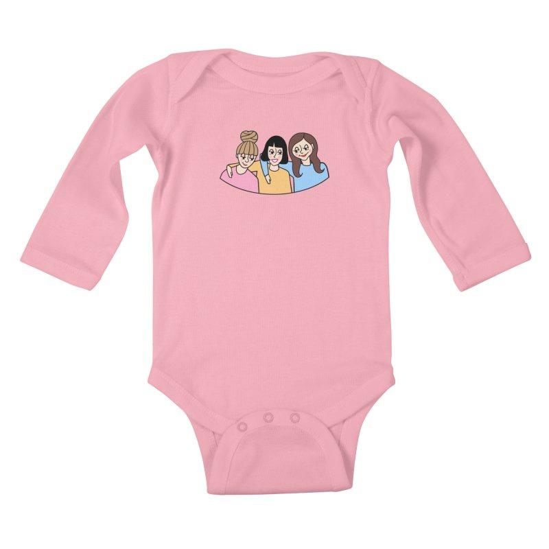 Reserved for Nikki Kids Baby Longsleeve Bodysuit by Kate Gabrielle's Artist Shop