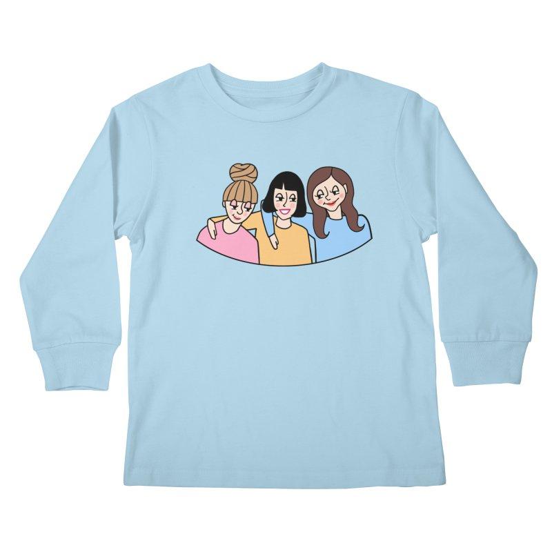 Reserved for Nikki Kids Longsleeve T-Shirt by Kate Gabrielle's Artist Shop
