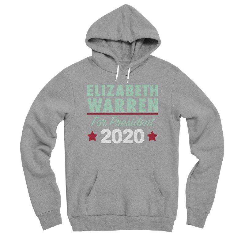 Elizabeth Warren for President Men's Sponge Fleece Pullover Hoody by Kate Gabrielle's Artist Shop