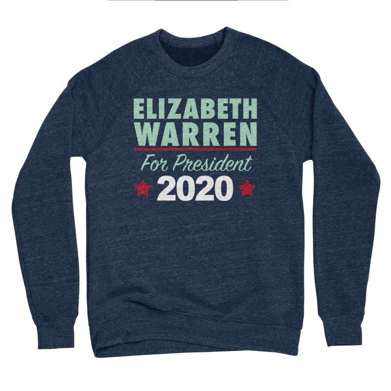 Elizabeth Warren for President Men's Sponge Fleece Sweatshirt by Kate Gabrielle's Artist Shop
