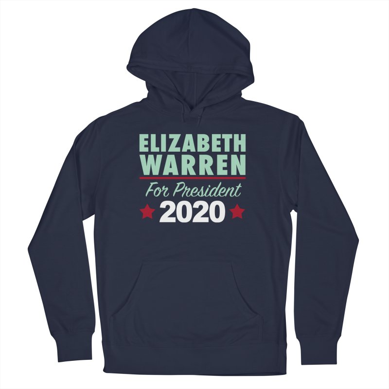 Elizabeth Warren for President Men's French Terry Pullover Hoody by Kate Gabrielle's Artist Shop