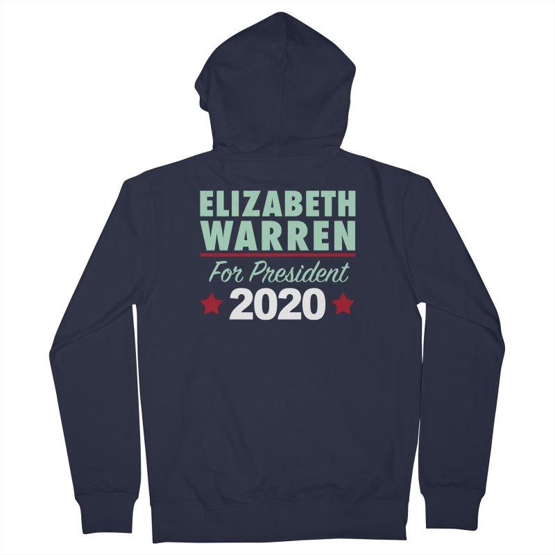 Elizabeth Warren for President Women's French Terry Zip-Up Hoody by Kate Gabrielle's Artist Shop