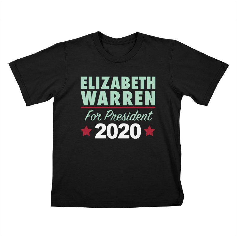 Elizabeth Warren for President Kids T-Shirt by Kate Gabrielle's Artist Shop