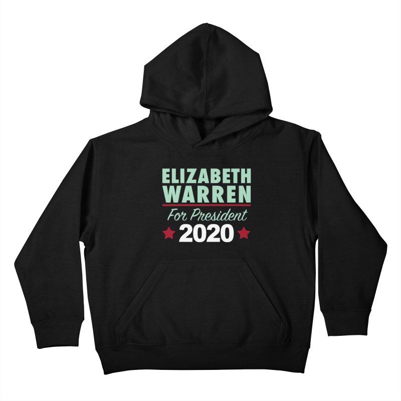 Elizabeth Warren for President Kids Pullover Hoody by Kate Gabrielle's Artist Shop