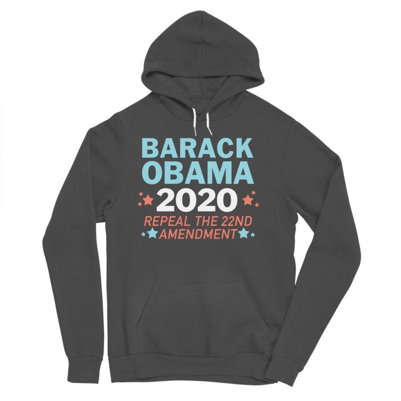 Barack Obama 2020 Women's Sponge Fleece Pullover Hoody by Kate Gabrielle's Artist Shop