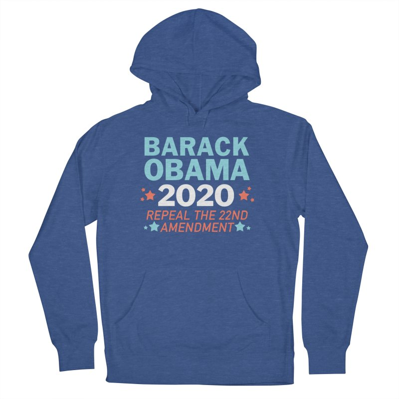 Barack Obama 2020 Women's French Terry Pullover Hoody by Kate Gabrielle's Artist Shop