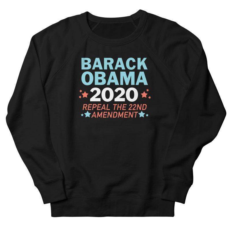 Barack Obama 2020 Women's French Terry Sweatshirt by Kate Gabrielle's Artist Shop