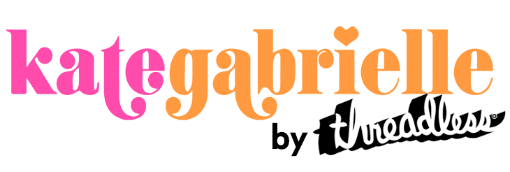 Logo for Kate Gabrielle's Threadless Shop