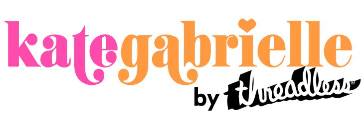 Logo for Kate Gabrielle's Threadless Shop
