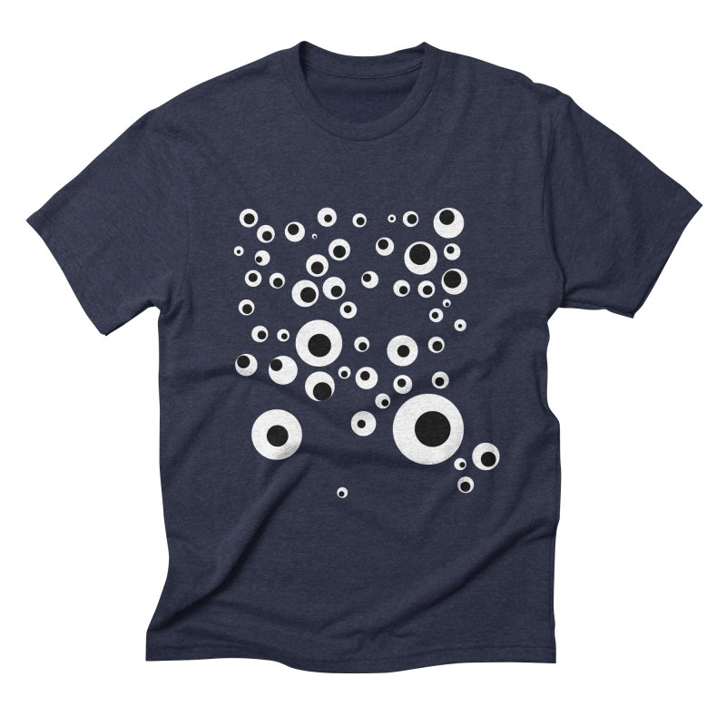 Googlie Eyes Men's Triblend T-Shirt by Congratulations Pine Tees