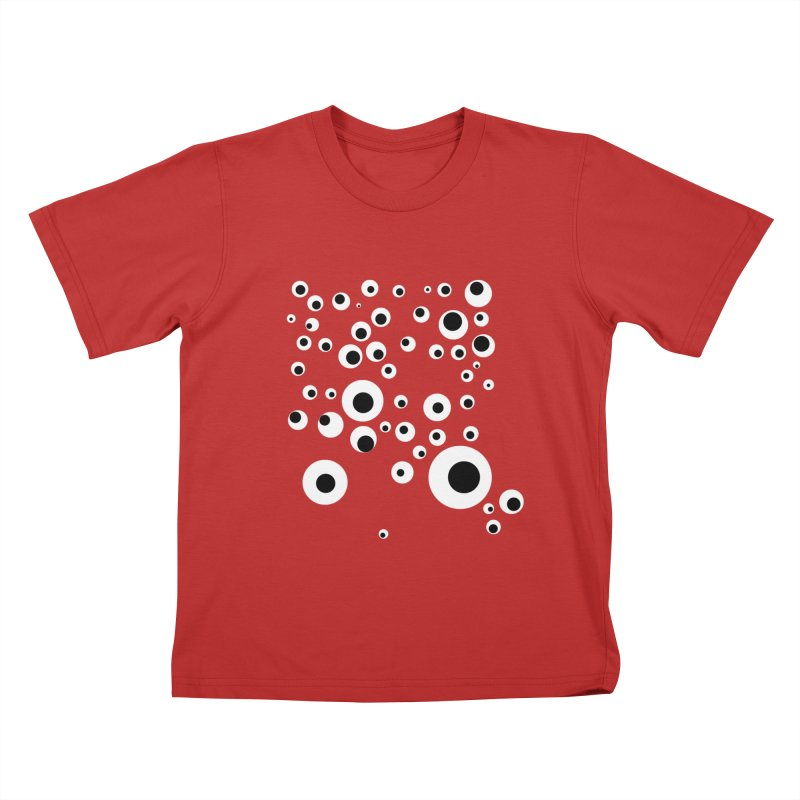 Googlie Eyes Kids T-shirt by Congratulations Pine Tees