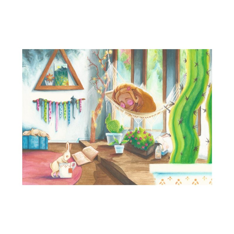 Sleepy Musk-Garden by katherinejoyce's Artist Shop
