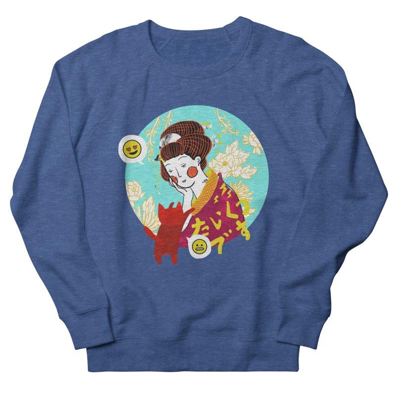 Cat Lady Men's Sweatshirt by katherineliu's Artist Shop