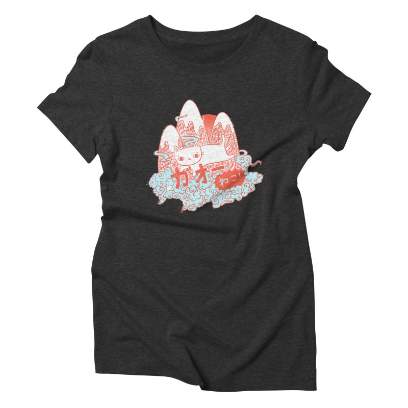 Rising Sun Women's Triblend T-shirt by katherineliu's Artist Shop
