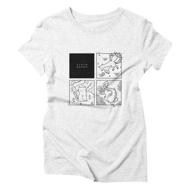 Spirit Legends Women's Triblend T-shirt by katherineliu's Artist Shop