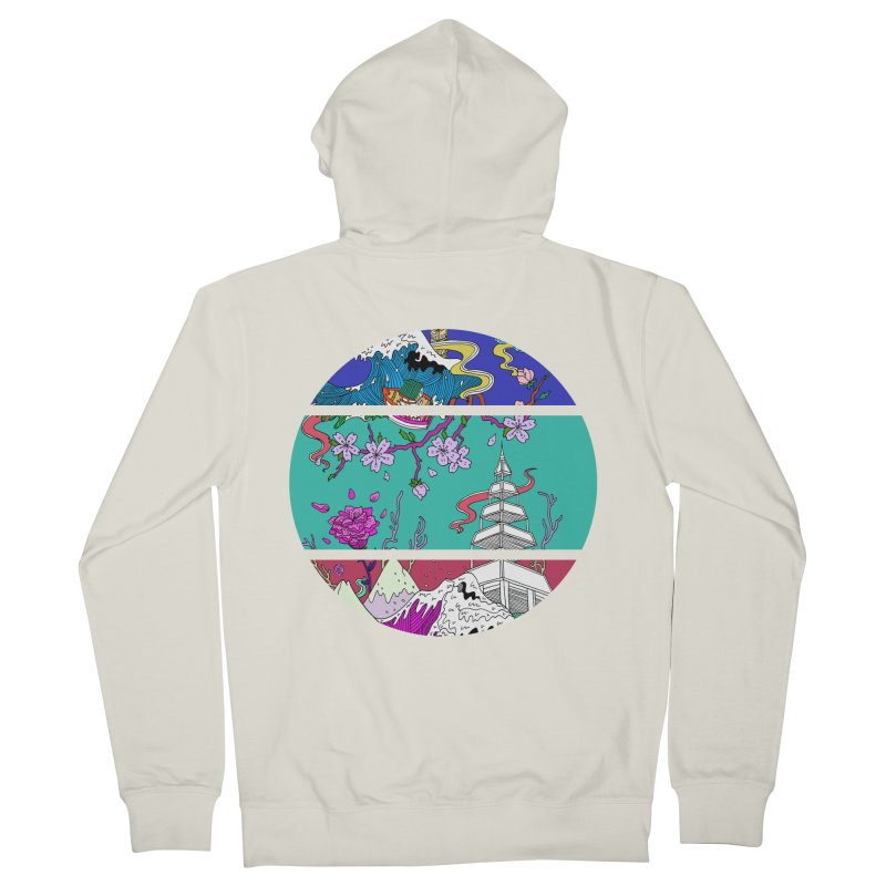 Dreamscape Women's Zip-Up Hoody by katherineliu's Artist Shop