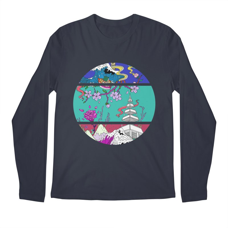 Dreamscape Men's Longsleeve T-Shirt by katherineliu's Artist Shop